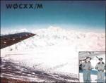 Arthur Collins Airborne Mobile W0CXX/M Outside view