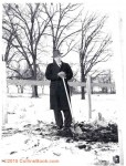 Arthur Collins Breaking Ground at 1952 Bldg Site