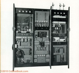 Collins Radio 231D-13 3KW 2-18mhz Transmitter open