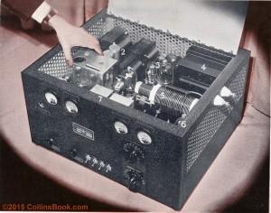 Collins Radio 45ATX Transmitter