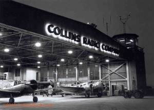Collins Radio Cedar Rapids airport Main Hanger