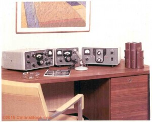 Collins Radio S-line desk
