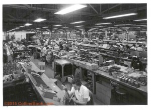 Collins Radio factory assembly line