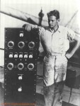 Byrd Collins Radio Transmitter on ship