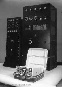 Byrd Collins Radio transmitter S-line comparison