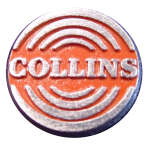 Collins Radio Photos - Round Emblem