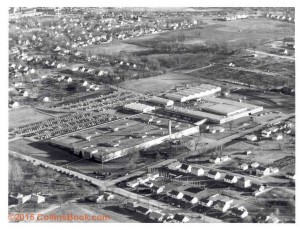 main plant Collins Radio aerial view