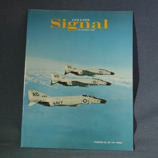 Collins Radio Signal Summer 1963 Cover