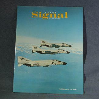 Collins Radio Signal Summer 1963 Cover