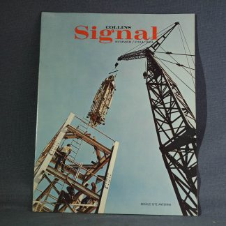 Collins Radio Signal summer fall 1964 cover