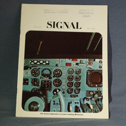 Collins Book Signal Fall 1965 cover
