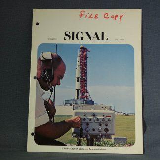 Collins Radio Signal Fall 1966 cover