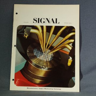 Collins Radio Signal Spring 1966 cover