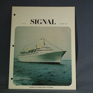 Collins Radio Signal Summer 1966 cover