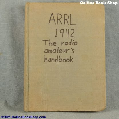 1942 Radio Handbook-ARRL-the-radio-amateurs-handbook-front