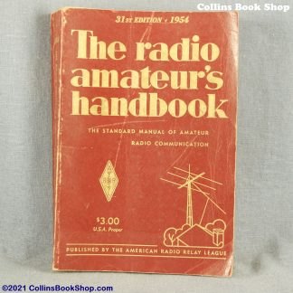 1954 Radio Handbook-ARRL-the-radio-amateurs-handbook-front