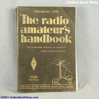 1956 Radio Handbook-ARRL-the-radio-amateurs-handbook-front