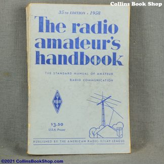 1958 Radio Handbook-ARRL-the-radio-amateurs-handbook-front