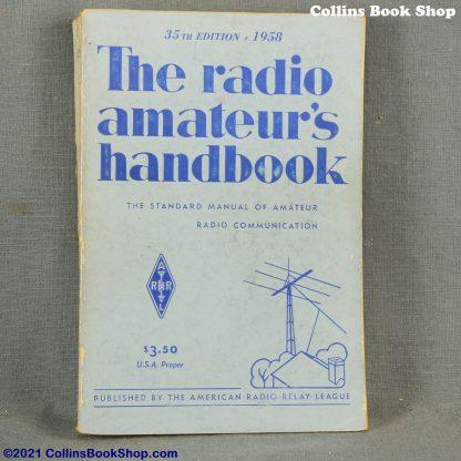 1958 Radio Handbook-ARRL-the-radio-amateurs-handbook-front