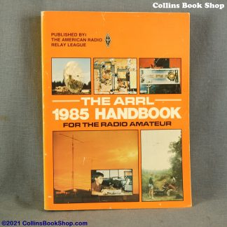 1985 Radio Handbook-ARRL-the-radio-amateurs-handbook-front