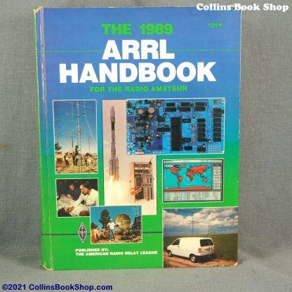 1989 Radio Handbook-ARRL-the-radio-amateurs-handbook-front