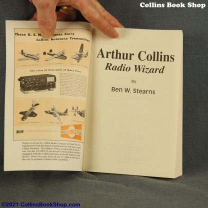 Arthur-Collins-Radio-Wizard-Ben-Stearns-inside-front
